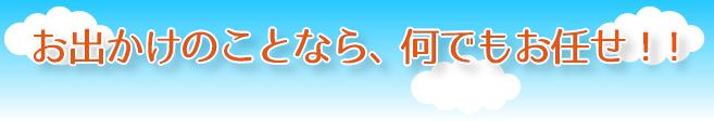甲賀市でのおでかけをサポートの介護タクシーみつばち